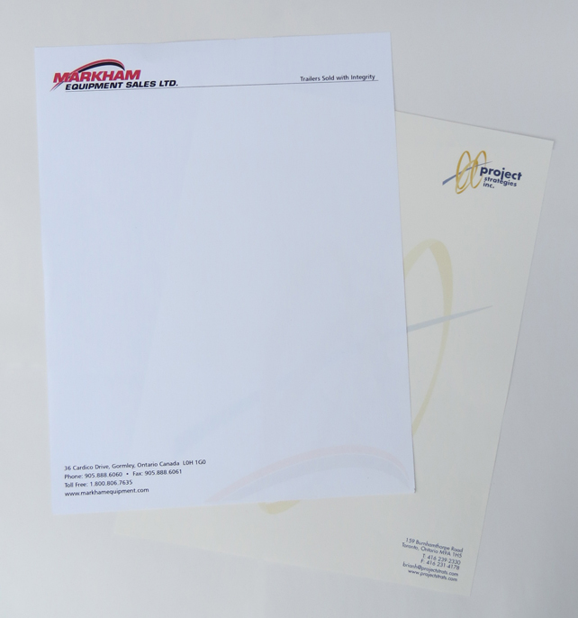 Letterhead -1 sided